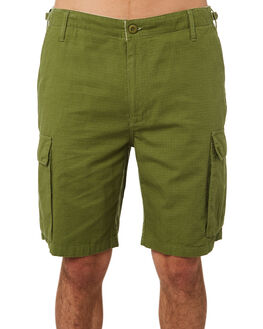 ARMY MENS CLOTHING OBEY SHORTS - BY088602ARM