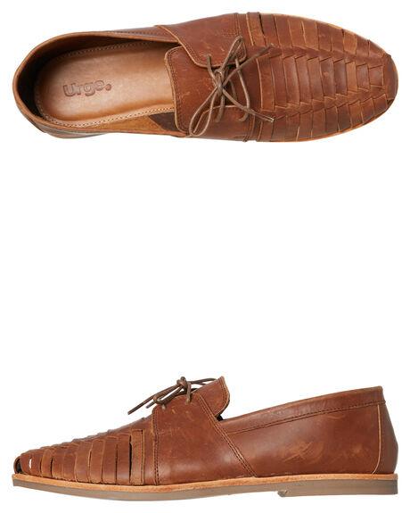 MOCHA MENS FOOTWEAR URGE FASHION SHOES - URG17042MOC