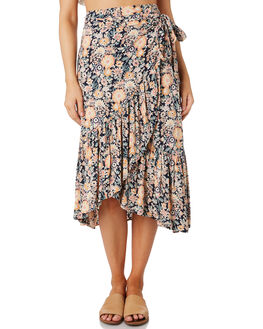 VINTAGE FLORAL WOMENS CLOTHING O'NEILL SKIRTS - 5721614VFRL