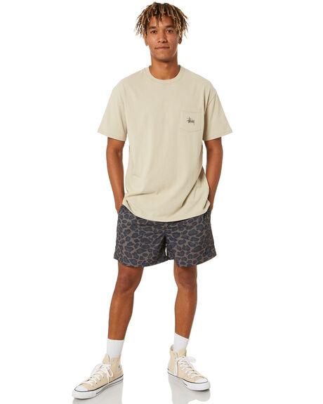 LEOPARD MENS CLOTHING STUSSY SHORTS - ST001602LEO