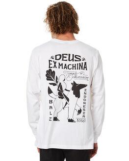 WHITE MENS CLOTHING DEUS EX MACHINA TEES - DMW81202BWHT