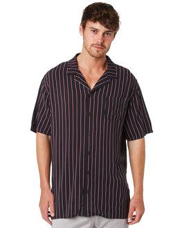 BLACK MENS CLOTHING ZANEROBE SHIRTS - 304-VERBLK