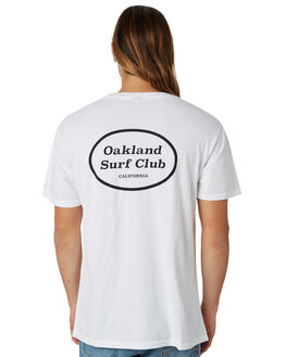 WHITE MENS CLOTHING OAKLAND SURF CLUB TEES - SU18-T3-WWHT
