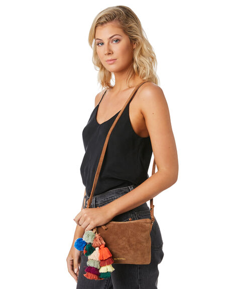 COGNAC WOMENS ACCESSORIES THE WOLF GANG BAGS + BACKPACKS - TWGW19A10COG