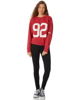 RED WOMENS CLOTHING ELEMENT JUMPERS - 288301RED