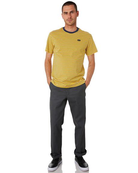 SAUTERNE MENS CLOTHING HUF TEES - KN00140-STRNE