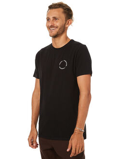 BLACK MENS CLOTHING SWELL TEES - S5173003BLK