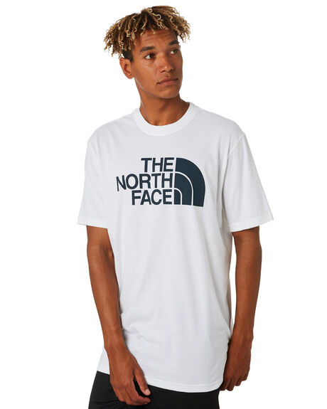WHITE BLACK MENS CLOTHING THE NORTH FACE TEES - NF0A46ZRLA9