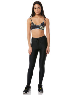 INDIGO TIE DYE WOMENS CLOTHING THE UPSIDE ACTIVEWEAR - UPL1687IND