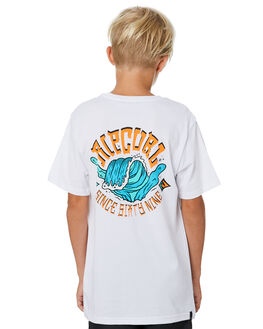 WHITE KIDS BOYS RIP CURL TOPS - KTEVO21000