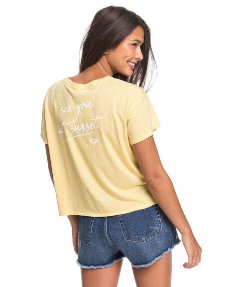 SAHARA SUN WOMENS CLOTHING ROXY TEES - ERJZT04840-YGD0