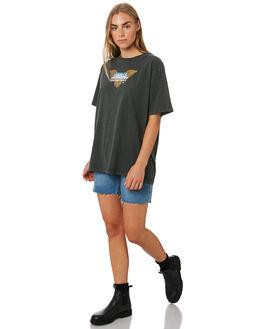 TRUCKER BLUE WOMENS CLOTHING THRILLS SHORTS - WTDP-315ETTRKBL