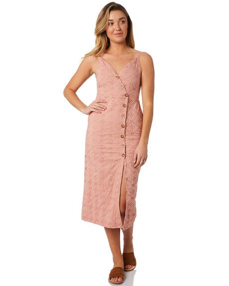BLUSH WOMENS CLOTHING THE HIDDEN WAY DRESSES - H8184446BLUSH