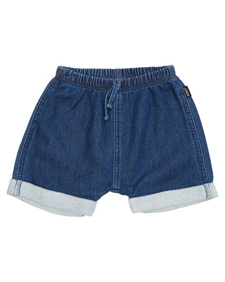 MID BLUE CHAMBRAY KIDS BABY BONDS CLOTHING - BXKKAMNH
