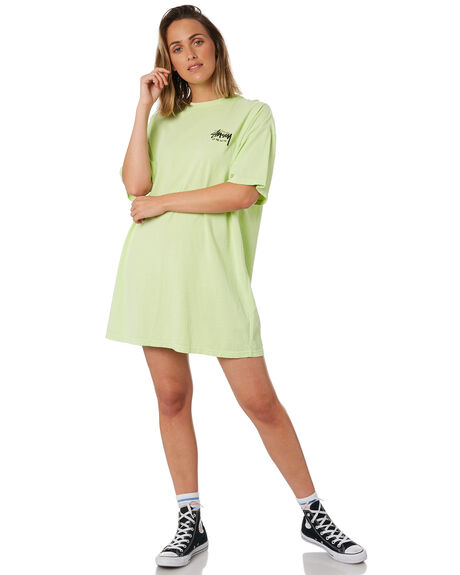LIME WOMENS CLOTHING STUSSY DRESSES - ST102009LIME