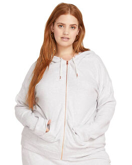 LIGHT GREY OUTLET WOMENS VOLCOM JUMPERS - CB3111802LGR