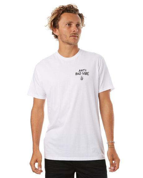 WHITE MENS CLOTHING VOLCOM TEES - A504174GWHT