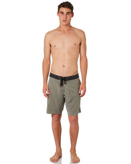 OLIVE OIL MENS CLOTHING AFENDS BOARDSHORTS - M184306OLIOI
