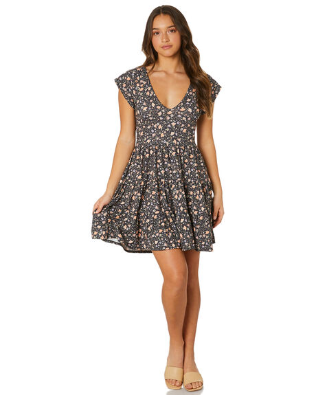 KENDALL PRINT WOMENS CLOTHING ALL ABOUT EVE DRESSES - 6483232PRNT
