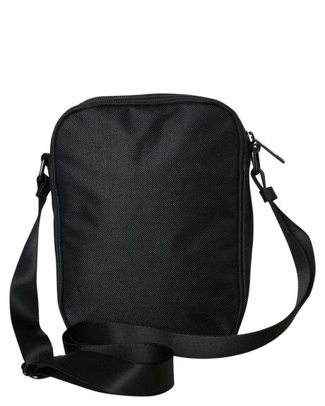 BLACK MENS ACCESSORIES STUSSY BAGS + BACKPACKS - ST791019BLK