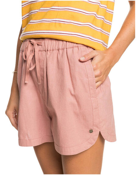 ASH ROSE WOMENS CLOTHING ROXY SHORTS - ERJNS03288-MKM0