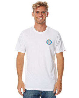 OPTIC WHITE MENS CLOTHING ELEMENT TEES - 176001BOWHT