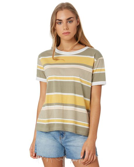 VETIVER WOMENS CLOTHING RIP CURL TEES - GTECL20830