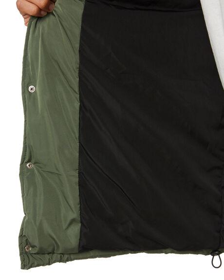FOREST GREEN MENS CLOTHING MISFIT JACKETS - MT016503FRGRN