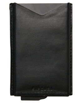 BLACK MENS ACCESSORIES RIP CURL WALLETS - BWLMC10090