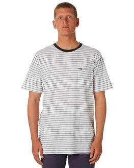 WHITE MENS CLOTHING VOLCOM TEES - A01118R1WHT