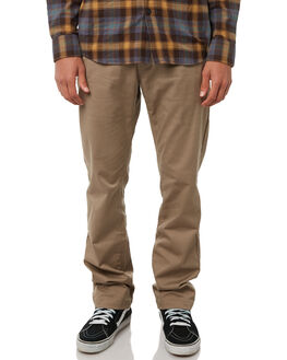 KHAKI MENS CLOTHING VOLCOM PANTS - A1111601KHA