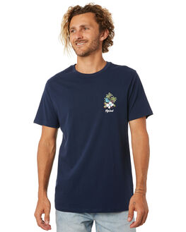 NAVY MENS CLOTHING RIP CURL TEES - CTEVR20049