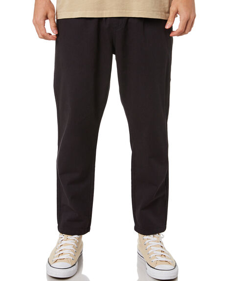 HERITAGE BLACK MENS CLOTHING THRILLS PANTS - TA21-402BHHBLK