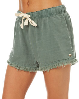 MOSS WOMENS CLOTHING BILLABONG SHORTS - 6571274MOSS