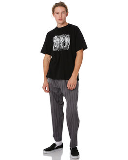 GREY MENS CLOTHING POLAR SKATE CO. PANTS - PSC-WAVSURF-GRY
