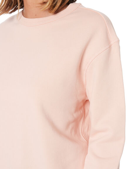 PALE PINK WOMENS CLOTHING AS COLOUR JUMPERS - 4121PPNK