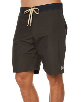 BLACK WITH NAVY MENS CLOTHING MOLLUSK BOARDSHORTS - MS14145BWN
