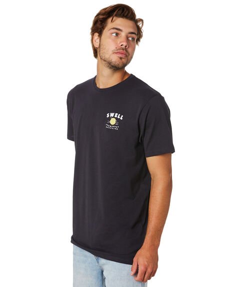 BLACK OUTLET MENS SWELL TEES - S5202019BLACK