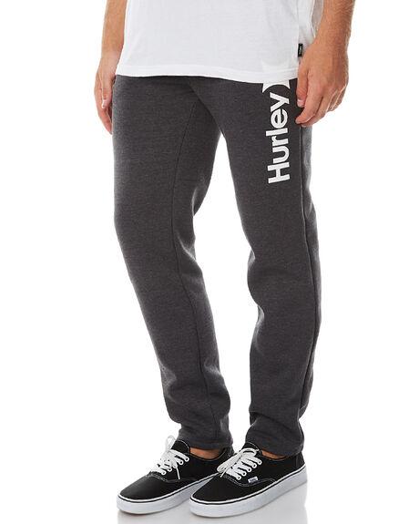 HEATHER BLACK MENS CLOTHING HURLEY PANTS - AMPTSCOHBK