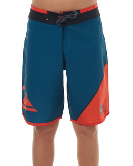 MOROCCAN BLUE KIDS BOYS QUIKSILVER BOARDSHORTS - EQBBS03184BSG6