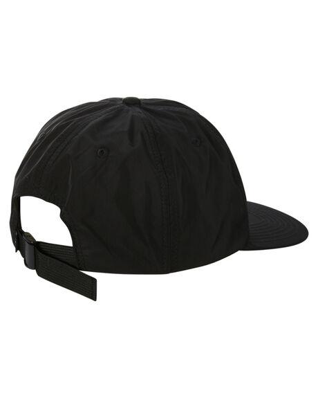 BLACK MENS ACCESSORIES STUSSY HEADWEAR - ST702005BLACK