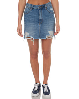 DOWNTOWN RUIN WOMENS CLOTHING WRANGLER SKIRTS - W-950946-EA7DTR