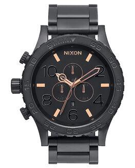 ALL BLACK ROSE GOLD V MENS ACCESSORIES NIXON WATCHES - A083957957