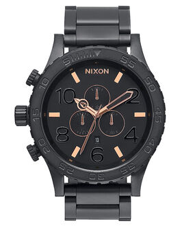 ALL BLACK ROSE GOLD V MENS ACCESSORIES NIXON WATCHES - A083957957