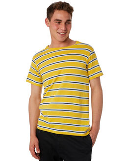OLD YELLOW MENS CLOTHING BANKS TEES - WTS0297_ODY