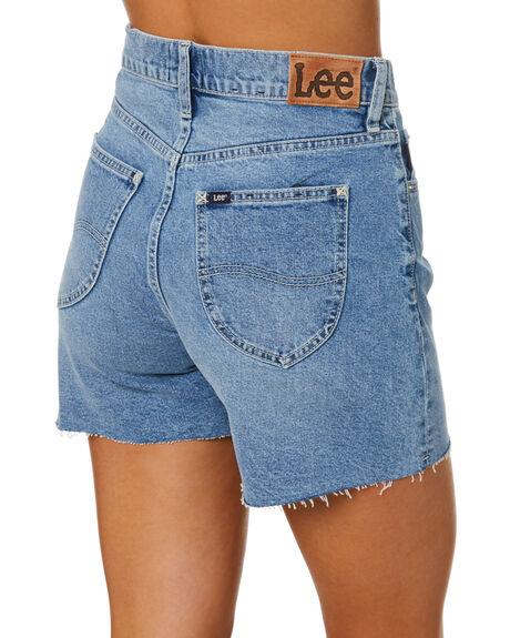 BIG TIME BLUE WOMENS CLOTHING LEE SHORTS - L-656917-PA1