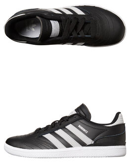 BLACK LGH SOLID KIDS BOYS ADIDAS ORIGINALS SNEAKERS - BY4074BLK
