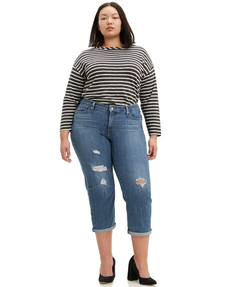 HAWAII BLUE WOMENS CLOTHING LEVI'S PLUS SIZE - 28944-0019