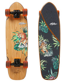 Obfive Psyched Tiger 28 Inch Cruiser Skateboard - Multi | SurfStitch
