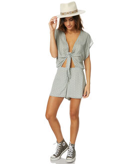 SAGE WOMENS CLOTHING THE HIDDEN WAY PLAYSUITS + OVERALLS - H8174442SAGE